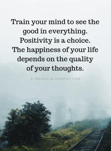 pozitivita je volba